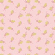 Lewis & Irene - Small Things Mythical & Magical - 5921 - Fairies in Pink - SM9.2 - Cotton Fabric